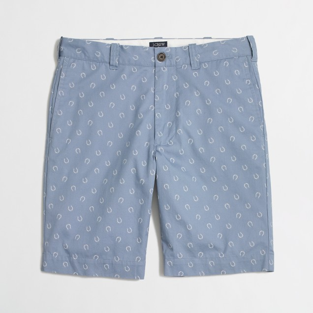 "9"" printed lightweight Gramercy short"