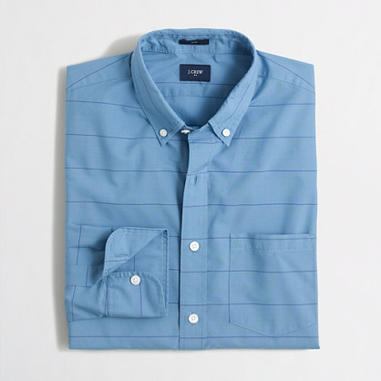 Slim lightweight shirt in multi-pattern