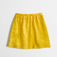 Factory girls' lace skirt