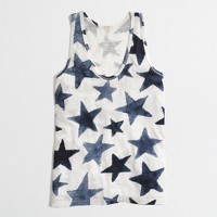 Factory scattered stars tank