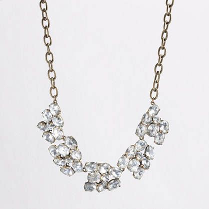 Factory crystal cloud necklace