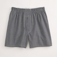 Factory mini-gingham boxers
