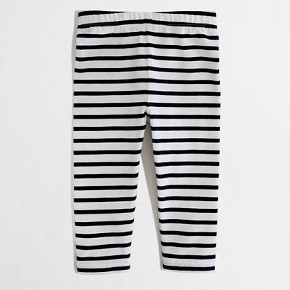 Factory girls' stripe capri leggings : leggings & handstand shorts ...