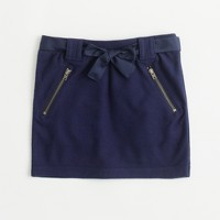 Factory girls' zip-pocket mini