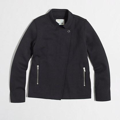 Factory girls' zipper jacket