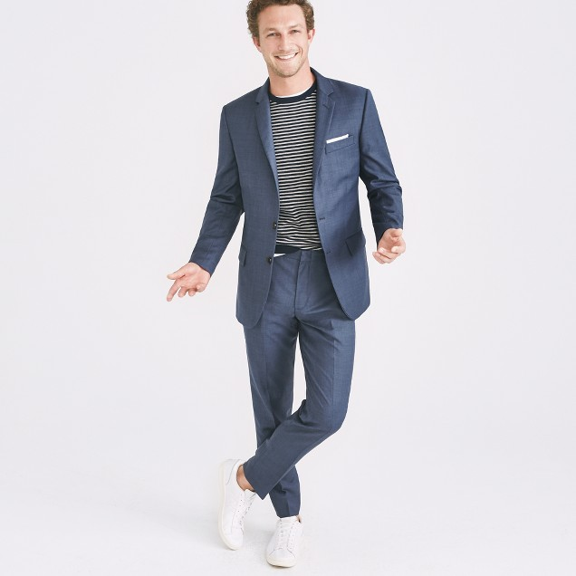 Thompson Suit Jacket In Worsted Wool : Men's Suits | J.Crew Factory