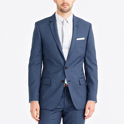 Thompson suit jacket in worsted wool