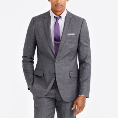 Thompson suit jacket in worsted wool factorymen tall c
