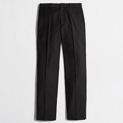 Factory Thompson suit pant in worsted wool