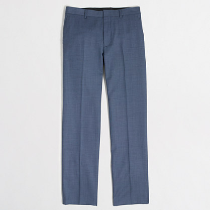 Thompson suit pant in worsted wool