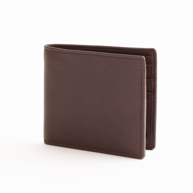 Factory classic leather wallet