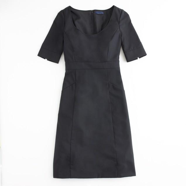 Factory Caryn dress in lightweight wool