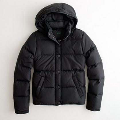 Factory puffer jacket