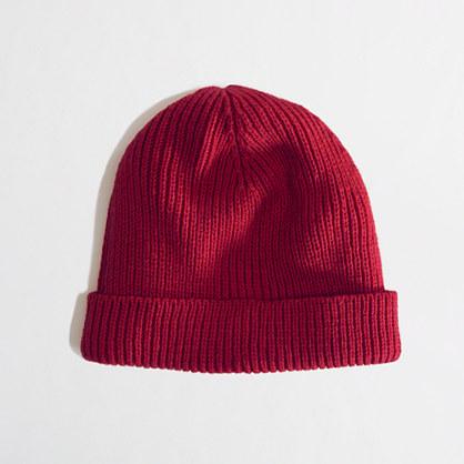 Factory cuffed hat