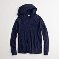 Factory slub popover hoodie