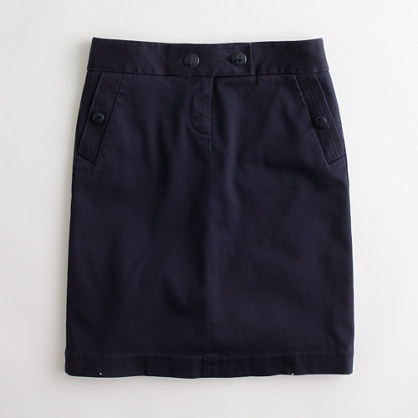 Stretch Chino Pencil Skirt Women S Skirts J Crew Factory