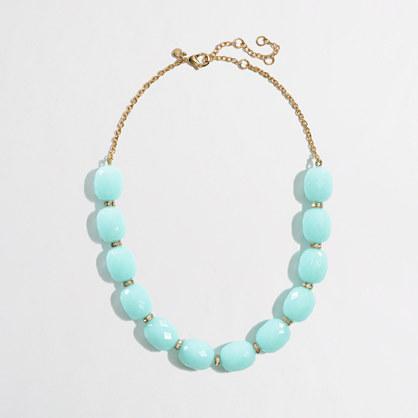 Factory rondelle bauble necklace