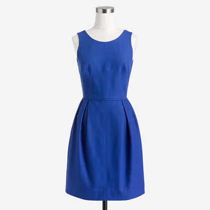 Factory textured cotton dress