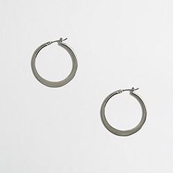 Factory hoop earrings