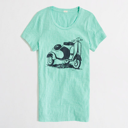 Factory scooter graphic tee