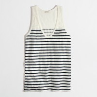 Factory stripe layering tank