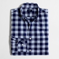 Lightweight shirt in large check