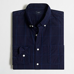 Factory patterned washed shirt