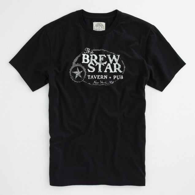 Factory Brew Star graphic tee