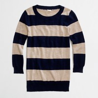 Factory textured stripe Charley sweater