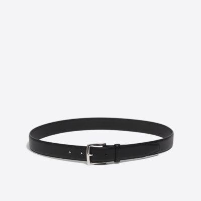 Classic leather dress belt