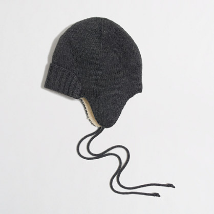 Trapper Hat j Crew Factory Fuzzy Trapper Hat