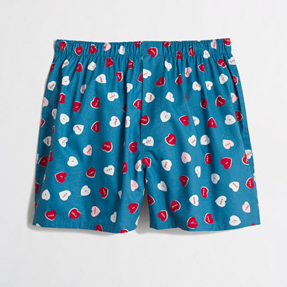 I love you hearts boxers