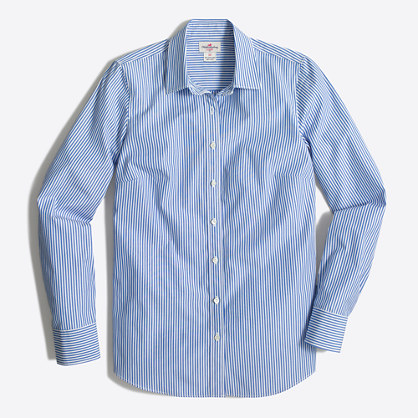 Classic Button-down Shirt : Women's Denim | J.Crew Factory
