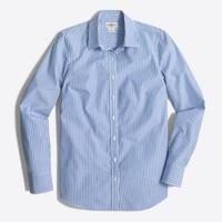 Petite classic button-down shirt