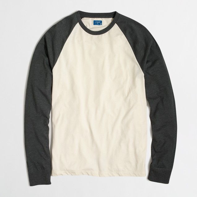 Long-sleeve baseball T-shirt