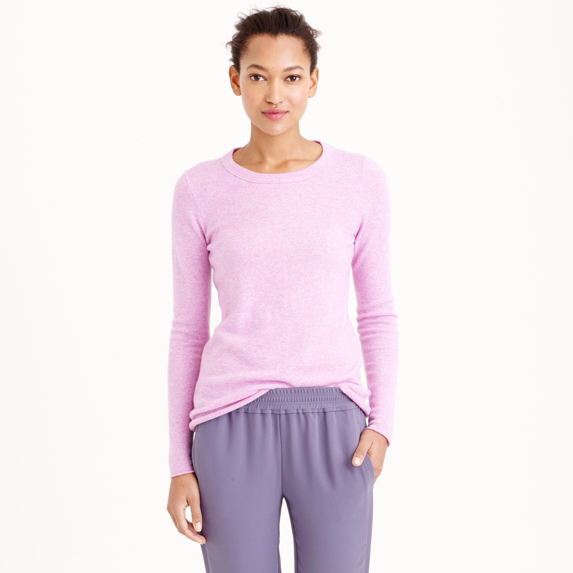 Italian cashmere long-sleeve T-shirt : Women cashmere | Factory