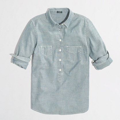 Factory chambray popover
