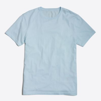 Slim washed T-shirt factorymen online exclusives c