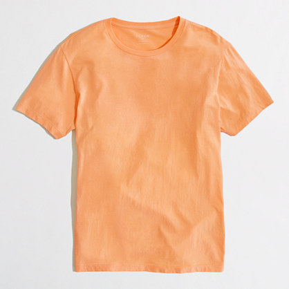 Slim washed T-shirt