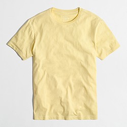 Factory washed T-shirt