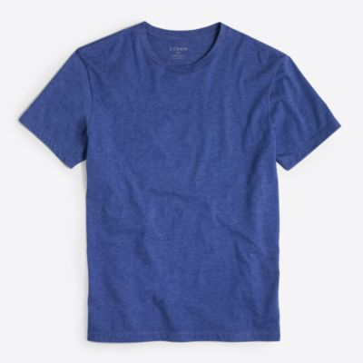 Heathered washed T-shirt factorymen new arrivals c