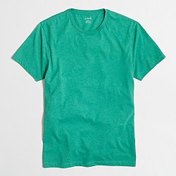 Slim heathered washed T-shirt