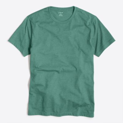 Heathered washed T-shirt factorymen t-shirts & henleys c
