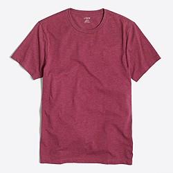 Slim heathered washed T-shirt