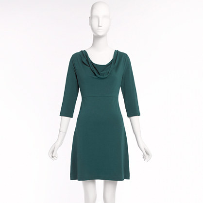 Factory softspun cowlneck dress