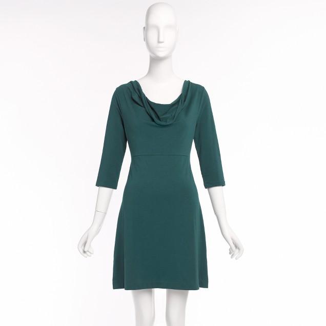 Factory softspun cowlneck dress