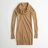 Factory cowlneck sweater-dress
