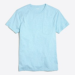 Tall slim washed pocket T-shirt