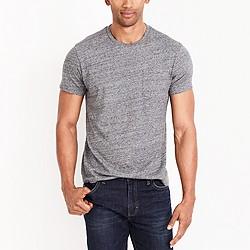 Slim washed pocket T-shirt