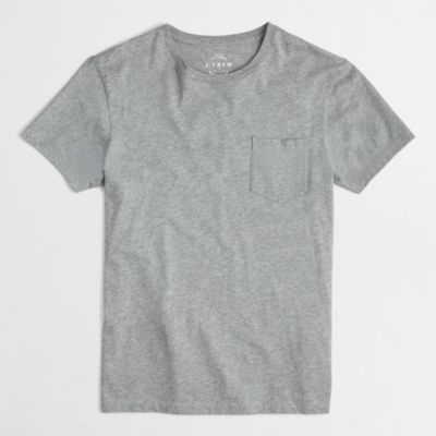 Slim washed pocket T-shirt   search